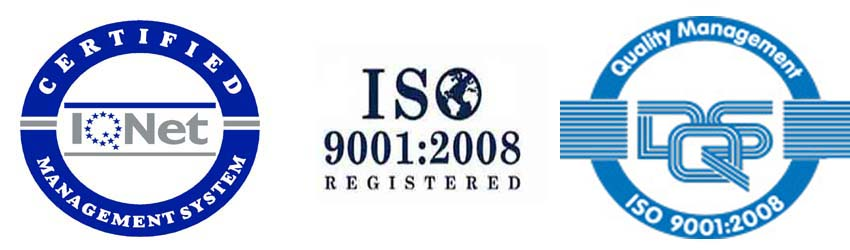 An ISO 9001 QMS certified company